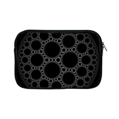 Plane Circle Round Black Hole Space Apple Ipad Mini Zipper Cases by Mariart