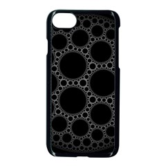 Plane Circle Round Black Hole Space Apple Iphone 7 Seamless Case (black) by Mariart