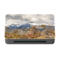 Forest And Snowy Mountains, Patagonia, Argentina Memory Card Reader With Cf by dflcprints