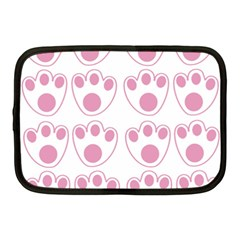 Rabbit Feet Paw Pink Foot Animals Netbook Case (medium)  by Mariart