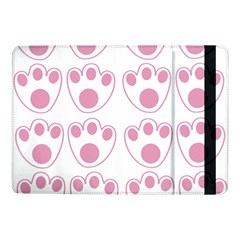 Rabbit Feet Paw Pink Foot Animals Samsung Galaxy Tab Pro 10 1  Flip Case by Mariart