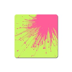 Big Bang Square Magnet by ValentinaDesign