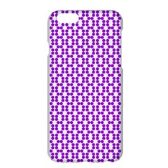 River Hyacinth Polka Circle Round Purple White Apple Iphone 6 Plus/6s Plus Hardshell Case by Mariart