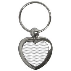 Renelle Box Waves Chevron Wave Line Key Chains (heart)  by Mariart