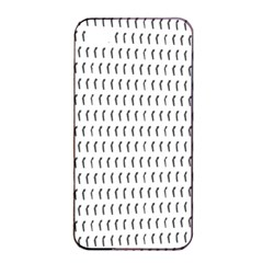 Renelle Box Waves Chevron Wave Line Apple Iphone 4/4s Seamless Case (black) by Mariart