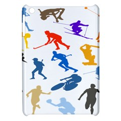Sport Player Playing Apple Ipad Mini Hardshell Case by Mariart