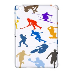 Sport Player Playing Apple Ipad Mini Hardshell Case (compatible With Smart Cover) by Mariart