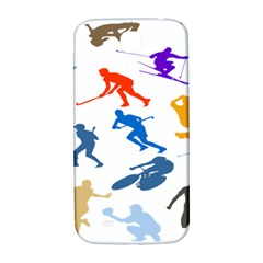 Sport Player Playing Samsung Galaxy S4 I9500/i9505  Hardshell Back Case by Mariart