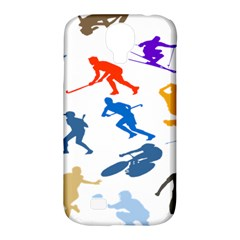 Sport Player Playing Samsung Galaxy S4 Classic Hardshell Case (pc+silicone) by Mariart