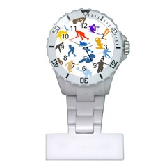 Sport Player Playing Plastic Nurses Watch by Mariart