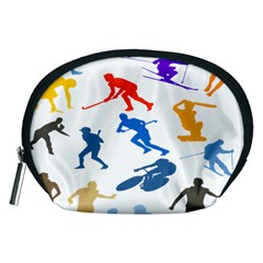 Sport Player Playing Accessory Pouches (medium)  by Mariart