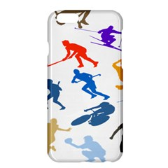 Sport Player Playing Apple Iphone 6 Plus/6s Plus Hardshell Case by Mariart