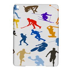 Sport Player Playing Ipad Air 2 Hardshell Cases by Mariart