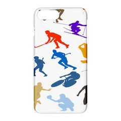 Sport Player Playing Apple Iphone 7 Plus Hardshell Case by Mariart