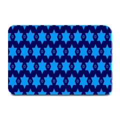 Star Blue Space Wave Chevron Sky Plate Mats by Mariart
