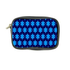 Star Blue Space Wave Chevron Sky Coin Purse by Mariart