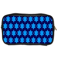 Star Blue Space Wave Chevron Sky Toiletries Bags