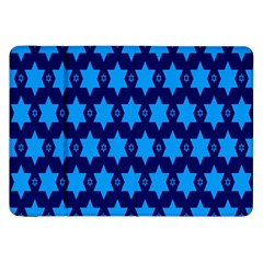 Star Blue Space Wave Chevron Sky Samsung Galaxy Tab 8 9  P7300 Flip Case by Mariart