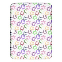 Star Space Color Rainbow Pink Purple Green Yellow Light Neons Samsung Galaxy Tab 3 (10 1 ) P5200 Hardshell Case  by Mariart