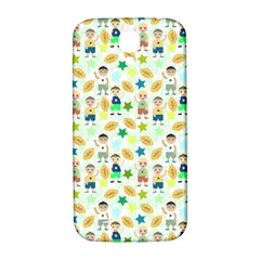 Kids Football Players Playing Sports Star Samsung Galaxy S4 I9500/i9505  Hardshell Back Case