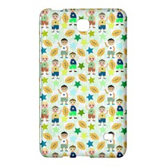 Kids Football Players Playing Sports Star Samsung Galaxy Tab 4 (7 ) Hardshell Case  by Mariart