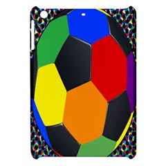 Team Soccer Coming Out Tease Ball Color Rainbow Sport Apple Ipad Mini Hardshell Case by Mariart
