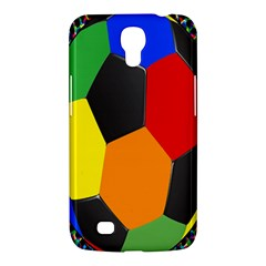 Team Soccer Coming Out Tease Ball Color Rainbow Sport Samsung Galaxy Mega 6 3  I9200 Hardshell Case by Mariart