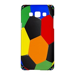 Team Soccer Coming Out Tease Ball Color Rainbow Sport Samsung Galaxy A5 Hardshell Case  by Mariart