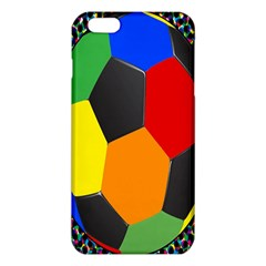 Team Soccer Coming Out Tease Ball Color Rainbow Sport Iphone 6 Plus/6s Plus Tpu Case by Mariart