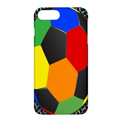 Team Soccer Coming Out Tease Ball Color Rainbow Sport Apple Iphone 7 Plus Hardshell Case by Mariart
