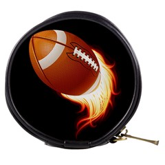 Super Football American Sport Fire Mini Makeup Bags by Mariart