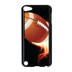 Super Football American Sport Fire Apple Ipod Touch 5 Case (black) by Mariart