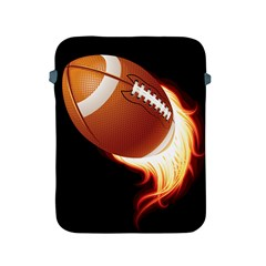 Super Football American Sport Fire Apple Ipad 2/3/4 Protective Soft Cases by Mariart
