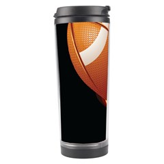Super Football American Sport Fire Travel Tumbler by Mariart