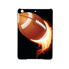 Super Football American Sport Fire Ipad Mini 2 Hardshell Cases by Mariart