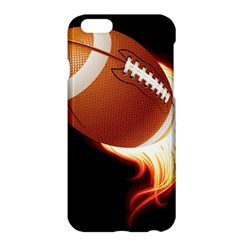 Super Football American Sport Fire Apple Iphone 6 Plus/6s Plus Hardshell Case by Mariart