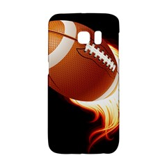 Super Football American Sport Fire Galaxy S6 Edge by Mariart