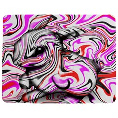 Wave Waves Chevron Rabbit Color Rainbow Pink Red Purple Animals Jigsaw Puzzle Photo Stand (rectangular)