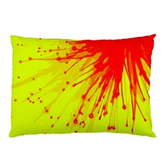 Big Bang Pillow Case by ValentinaDesign