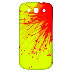 Big Bang Samsung Galaxy S3 S Iii Classic Hardshell Back Case by ValentinaDesign