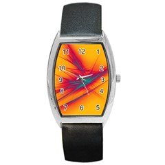 Big Bang Barrel Style Metal Watch by ValentinaDesign