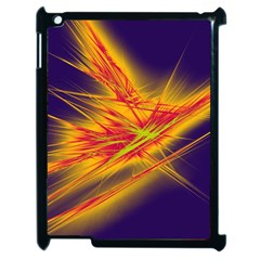 Big Bang Apple Ipad 2 Case (black) by ValentinaDesign