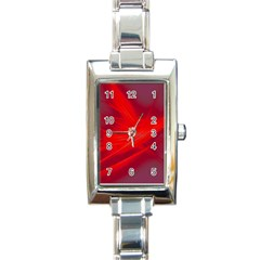 Big Bang Rectangle Italian Charm Watch by ValentinaDesign