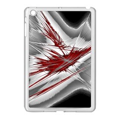 Big Bang Apple Ipad Mini Case (white) by ValentinaDesign
