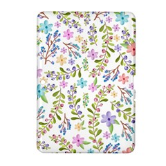 Twigs And Floral Pattern Samsung Galaxy Tab 2 (10 1 ) P5100 Hardshell Case  by Coelfen