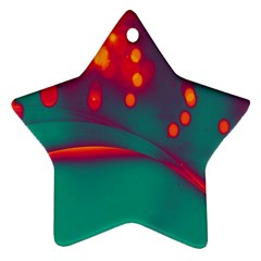 Lights Star Ornament (two Sides) by ValentinaDesign