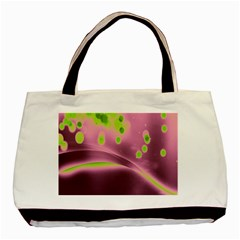 Lights Basic Tote Bag by ValentinaDesign