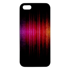 Lights Apple Iphone 5 Premium Hardshell Case by ValentinaDesign