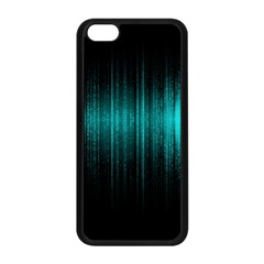 Lights Apple Iphone 5c Seamless Case (black) by ValentinaDesign