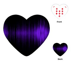 Lights Playing Cards (heart)  by ValentinaDesign